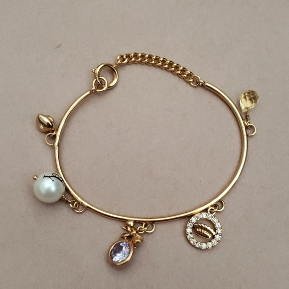 Juicy Couture Jewelry - Juicy Couture Bracelet with charms